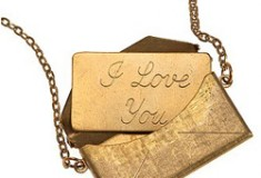 Message Envelope Necklace