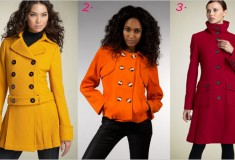 Haute Trend: Brightly Colored Coats