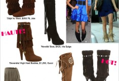 Haute Trend: Fringed Boots