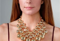 Lee Angel Jewelry 'Judy' Bib Necklace