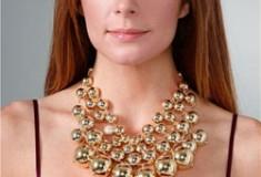 Lee Angel Jewelry 'Judy' Bib Necklace
