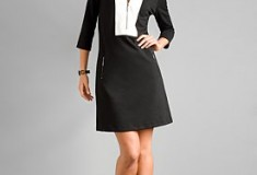 New York & Company City Style Ponte Dress