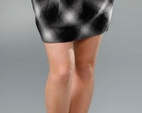 Robert Rodriguez Plaid Skirt