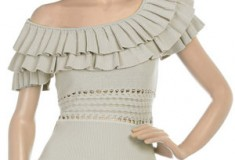 Look Like a Princess (Not Prince) in the Catherine Malandrino Ruffle Neck Top