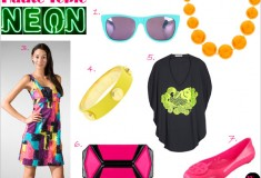 Haute Topic: Fashionable Neon Brights