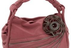 Lockheart 'Zip It' Rose Detail Hobo