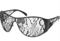 See the World Through Chanel's Lace-covered Sunglasses