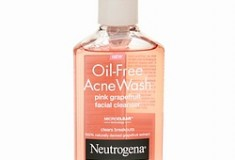 Clear Skin Refreshment: Neutrogena Oil Free Acne Wash with Pink Grapefruit