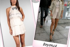 Beyoncé's haute look: Sretsis 'Clara' tiered dress