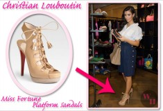 Kim Kardashian and Rihanna love their nude Christian Louboutin shoes