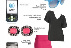 "Sponsored Post: AT&T Asks ""Which Style Are You?"" Rock the Neon Look"