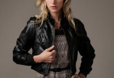In My Haute Closet: Catherine Malandrino cropped bomber jacket
