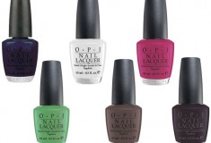 OPI Matte Nail Lacquers