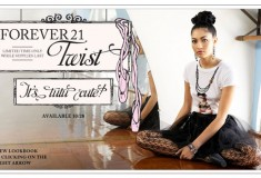 Forever 21 does the Twist – ballet style