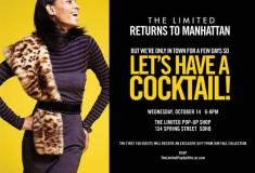 The Limited pop-up shop returns to Manhattan
