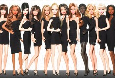 Barbie Basics black label collection of little black dresses