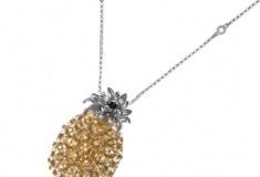 Tropically-inspired: the Nehita Pineapple necklace