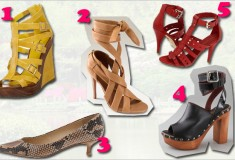 The top 5 spring/summer shoes you need right now!