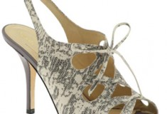 Kate Spade 'Colin' python print sandals