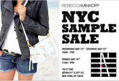 Shop it: the Rebecca Minkoff NYC sample sale