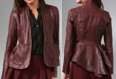 Haute Splurge: Nanette Lepore Hush Hush Leather Jacket