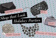 Shop that look: holiday parties