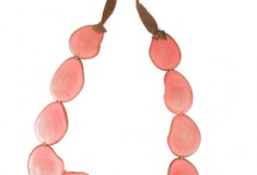 Holiday gift pick: the Tagua Bib Necklace from The Andean Collection