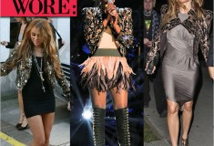 What they wore: the Alice + Olivia by Stacey Bendet 'Luiza' Moto jacket