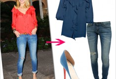 Want to look supermodel fab and effortlessly chic? Steal Heidi Klum's haute look!