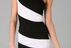 Haute buy: Alice + Olivia Striped Skye One Shoulder Dress
