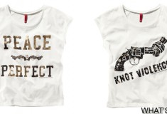 H&M brings awareness to non-violence through the Knot Violence collection
