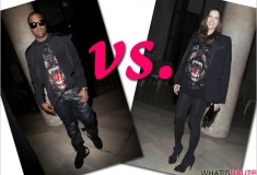 Who rocked it hotter: Kanye West vs. Liv Tyler in Givenchy