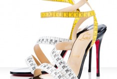 "Haute or not: Christian Louboutin ""Police"" Measuring Tape Sandals"