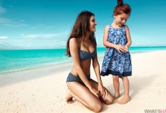 H&M + WaterAid – new collection of blue beachwear and accessories