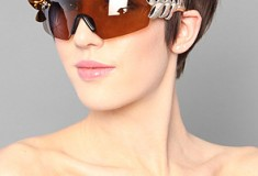 Funky, quirky and tongue-in-cheek: Jeremy Scott for Linda Farrow Sunglasses
