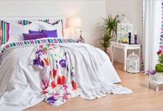 Zara white nelsie bedroom collection