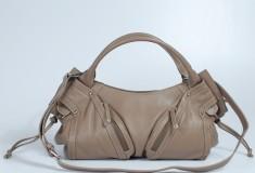 barr-+-barr-handbags-grey-zippered-satchel