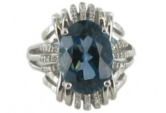 New Art Deco and Estate Jewelry Collection by Ramona Singer for HSN 2011_06_20_BlueStone_ring3