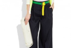 Color me lemon-lime: Jil Sander Reversible two-tone leather belt