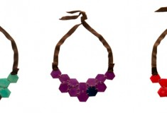 The Andean Collection twists things up with Honeycomb Necklace and more in Antisana line