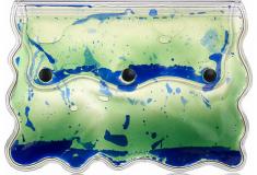 Haute bag of the week: Christopher Kane Aqua gel-filled PVC clutch