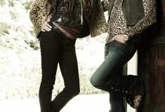Rock icon Steven Tyler and daughter Chelsea are the new faces of Andrew Charles by Andy Hilfiger
