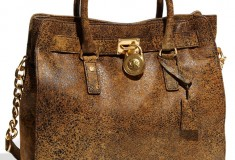 MICHAEL Michael Kors 'Hamilton - Large' Distressed Tote