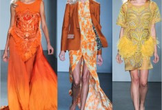 Trend report: Color clash at London Fashion Week Spring/Summer 2012