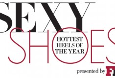 "Vote for your fave pair of ""Sexy Shoes"" and win a $10,000 shopping spree from Saks Fifth Avenue and Footwear News"