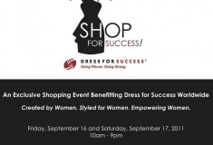 Haute event: Shop for Success