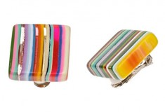Haute buy: Sobral Pop Art Clip Earrings