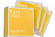 Keep your summer glow with Somerville360 Tanning Towelettes by Kate Somerville