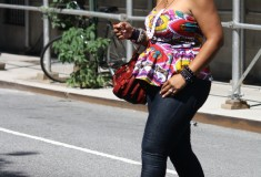 My Style: Peplum 2011 (Kersh top + Zara jeans & sandals + Jimmy Choo Mahala/Maddy bag)