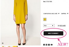 In case you missed it: you can now shop online at Zara!